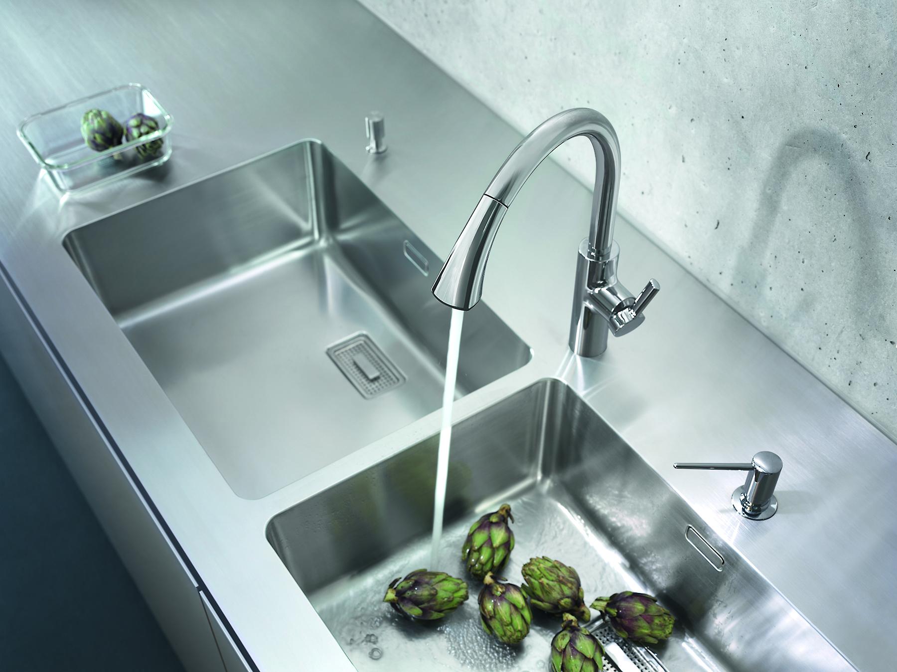 Awesome kitchen sink shower ideas the best bathroom - Best caulk for undermount kitchen sink ...