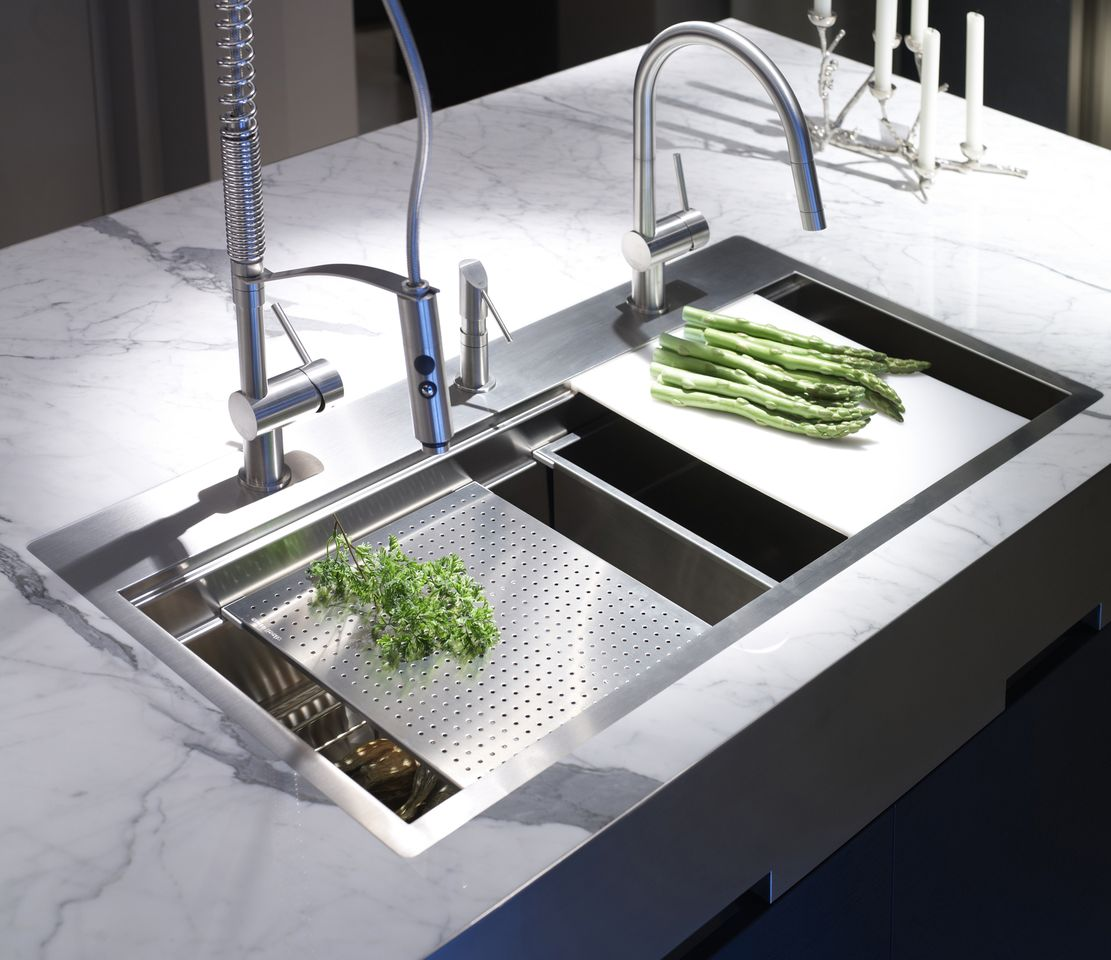 Kitchen Island Accessories: Kitchen Sinks & Accessories